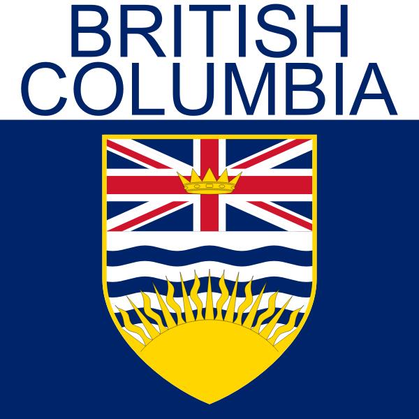British Columbia symbol vector drawing