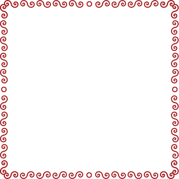 Abstract border vector illustration