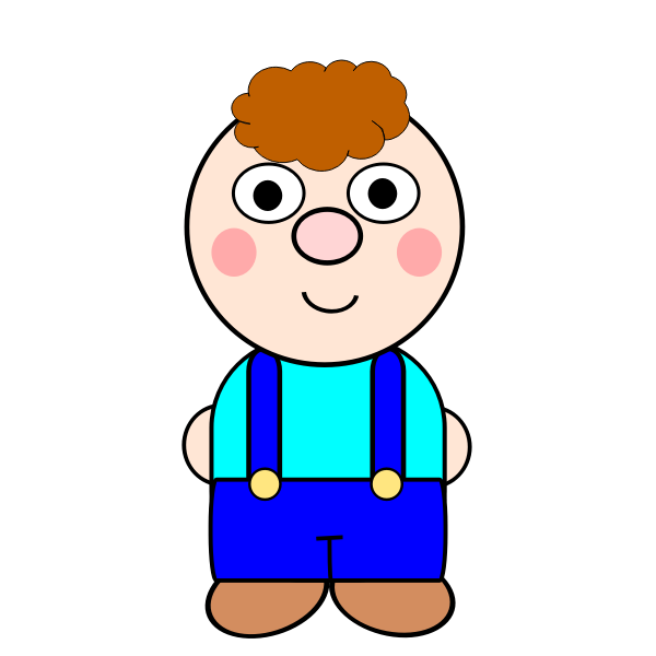 Animated boy image