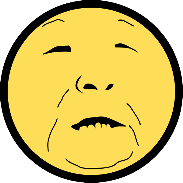 Baba Vanga smile smiley vector image