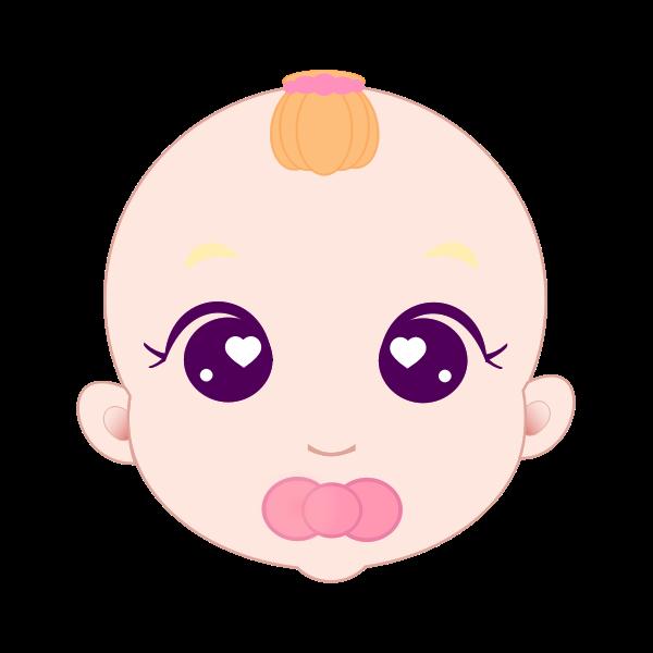 Cute Baby Girl Face