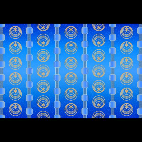 Background Patterns - Cerulean