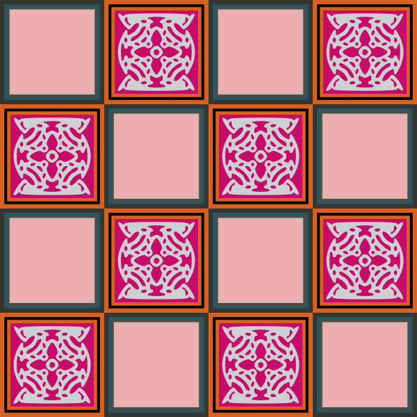 Decorative Square 8