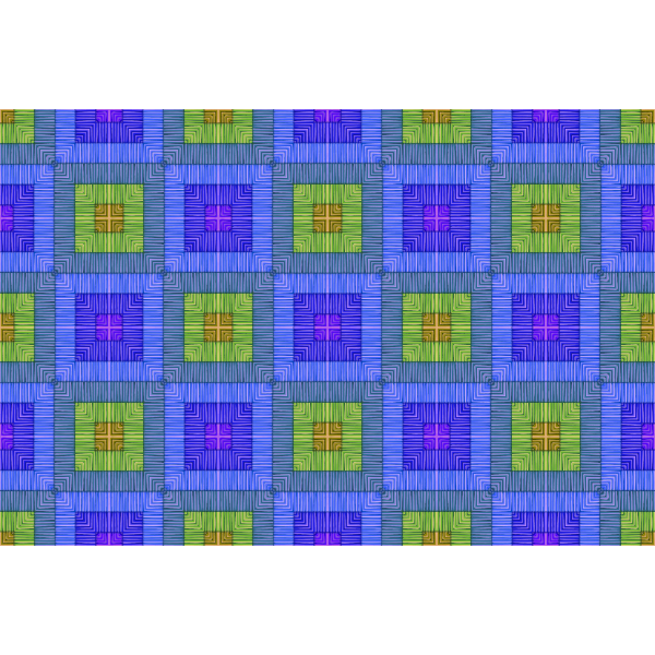 Square tiles in different colors