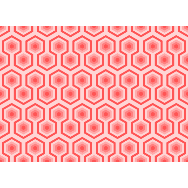Background pattern with red hives