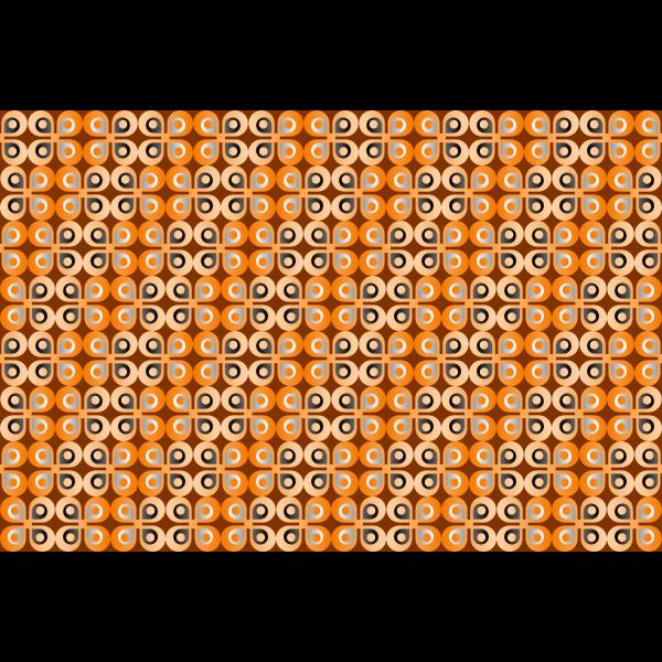 Orange butterflies in a background