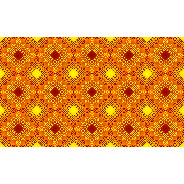 Background pattern with orange details