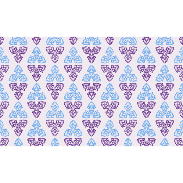 Wallpaper with blue and violet triangles
