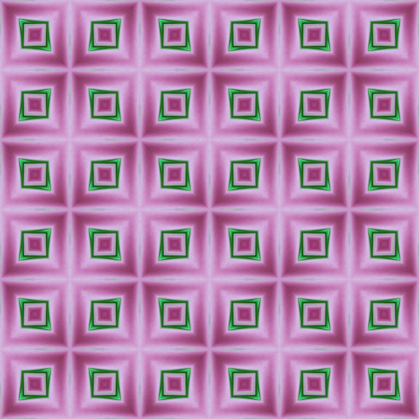 Pin k and green squares wallpaper