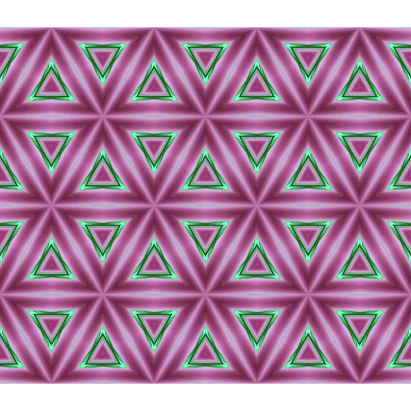 Background triangular pattern