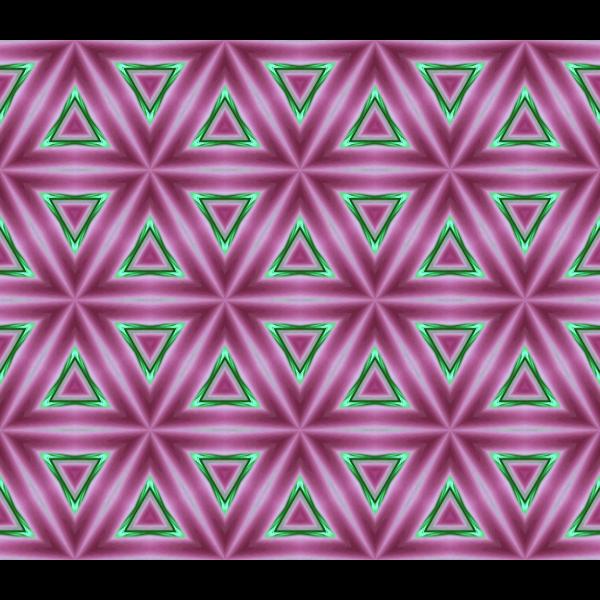 Background triangular pattern