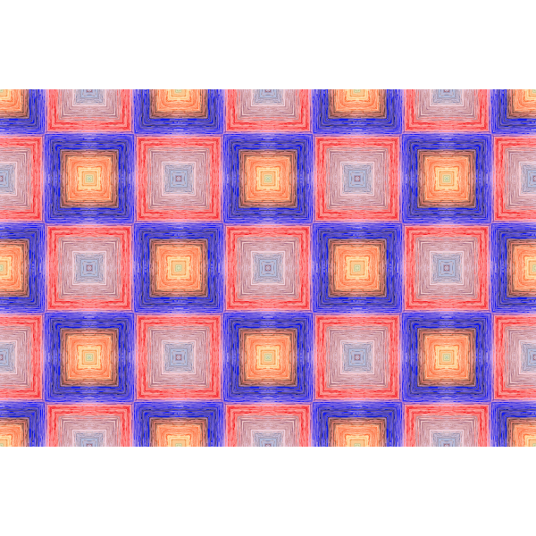 Background pattern with colorful squares