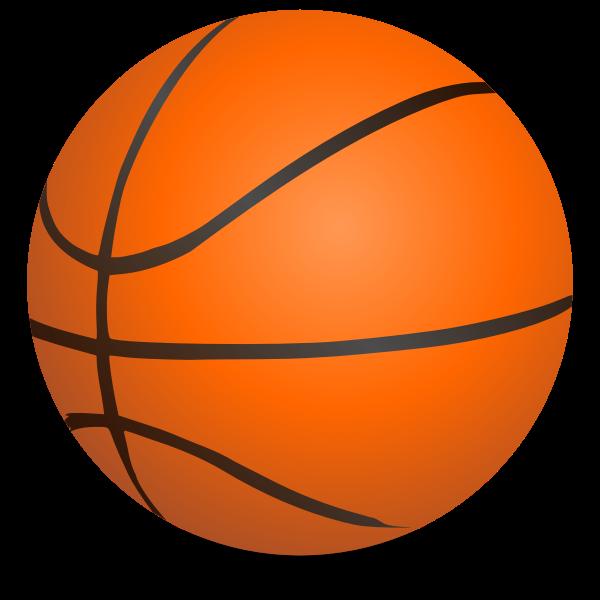 Basketball vector clip art