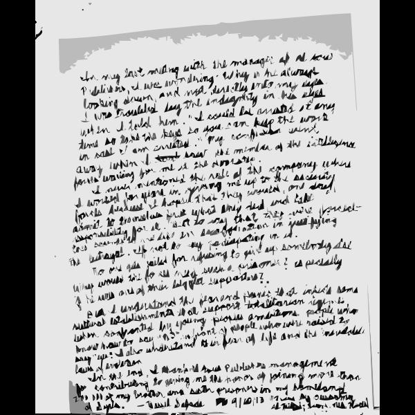 Bassel Letter Clarifying Arrest ENGLISH