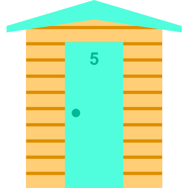 Beach Hut (#5)