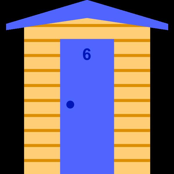 Beach Hut (#6)