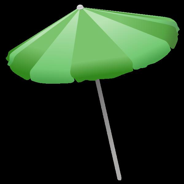 Beach umbrella vector clip art
