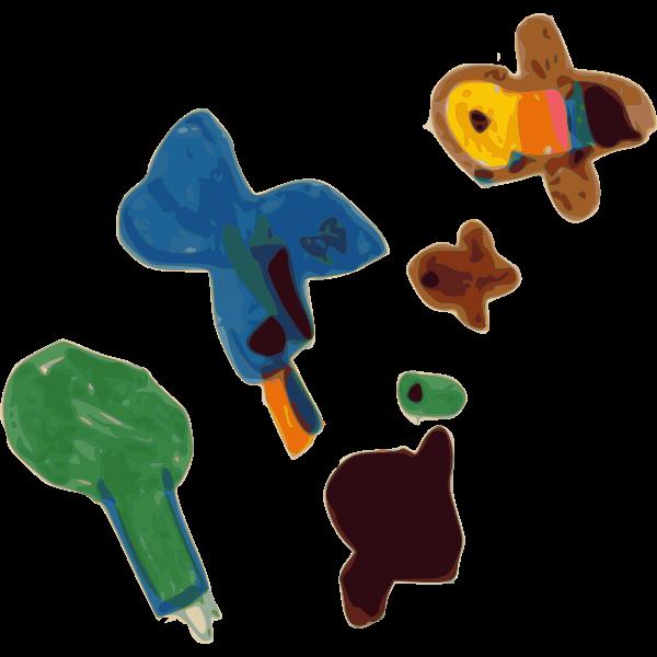 Child's doodle