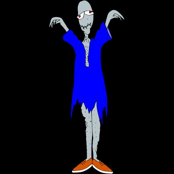Freak creature cartoon art