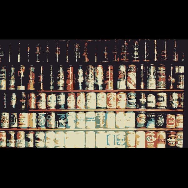 Beijing Cream Wall of Beer