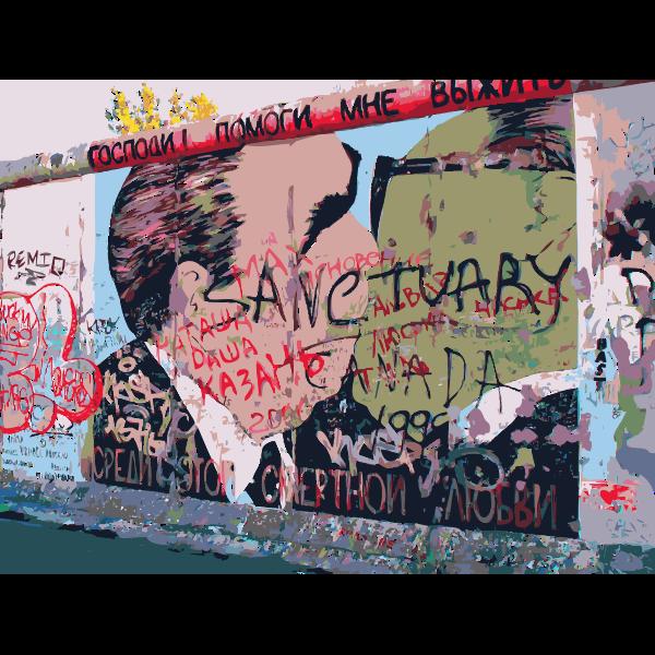 Berlin Wall East Side Sanctuary Graffiti 2014110914