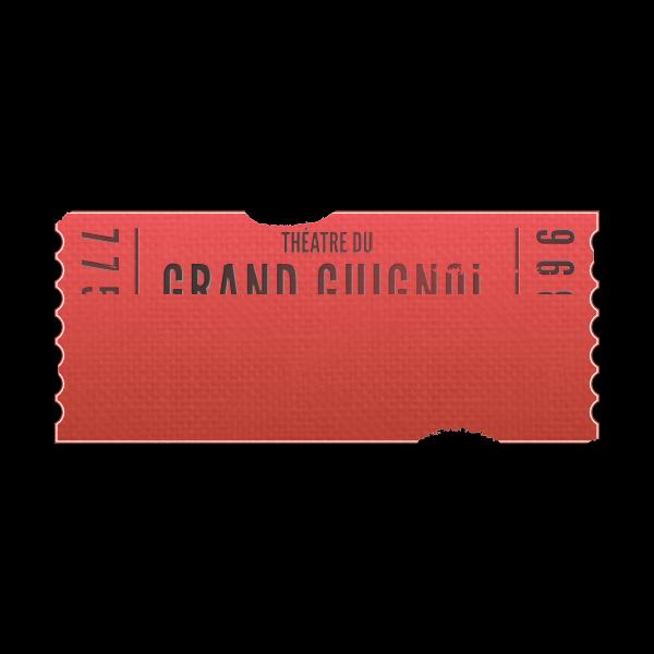 Grand Guignol ticket
