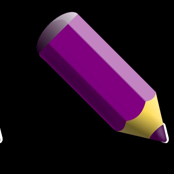 Violet pencil