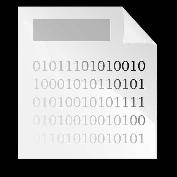 Binary file vector graphics