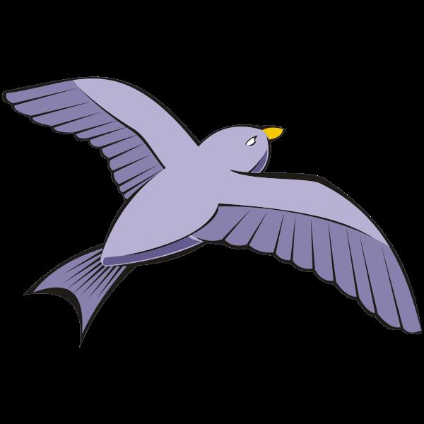 Bird in flight 6