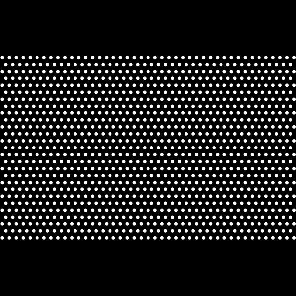 Black And White Polka Dots Mark II