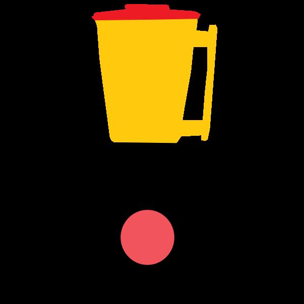 Colorful blender