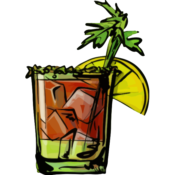 Bloody Mary cocktail icon