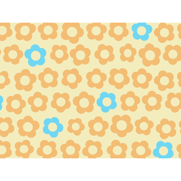 Background with flowers vector graphics