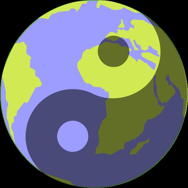 Blue Planet Ying Yang