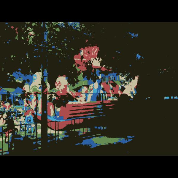 Bouncy Castle Scene