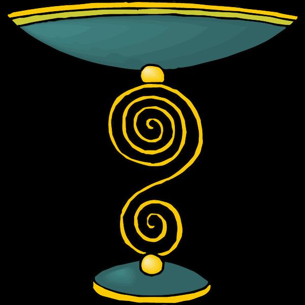 Spiral chalice
