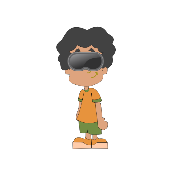 Boy With Vr Goggles