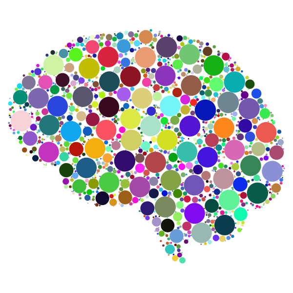 Brain Circles Prismatic