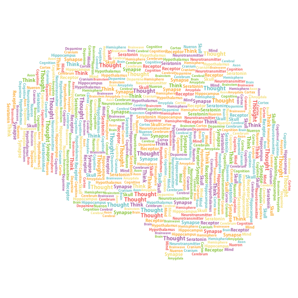 Words in brain