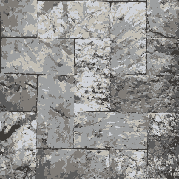Marble and brick texture floor drawing