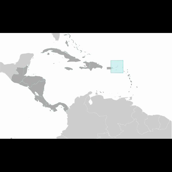 British Virgin Islands vector location