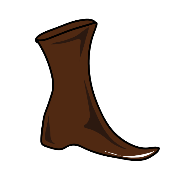 Brown Boot 1574178660 Free Svg