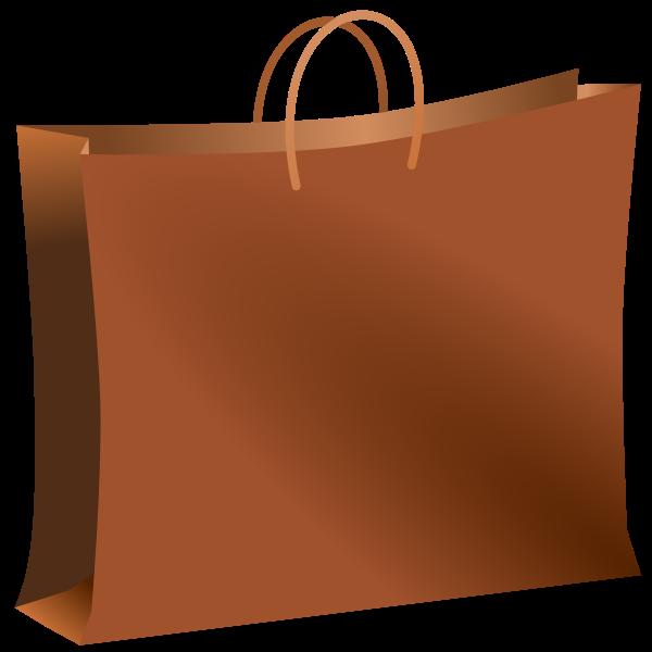 Brown bag vector graphics
