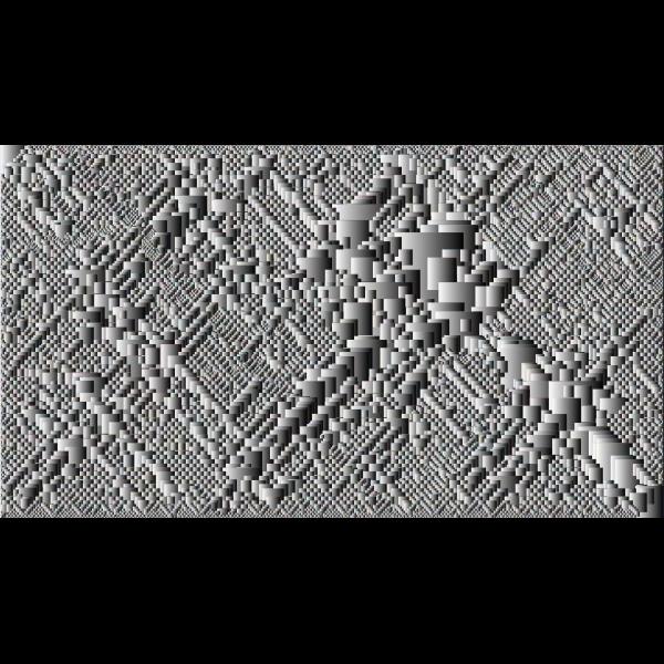 Prismatic gray wallpaper