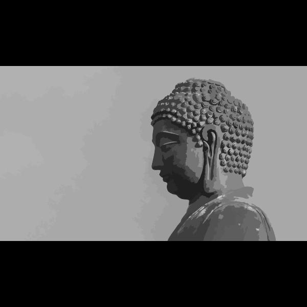 Buddha's profile