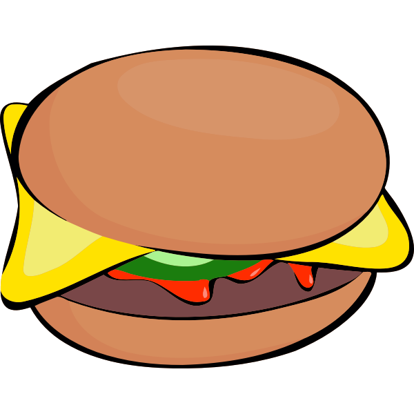 Burger with extras
