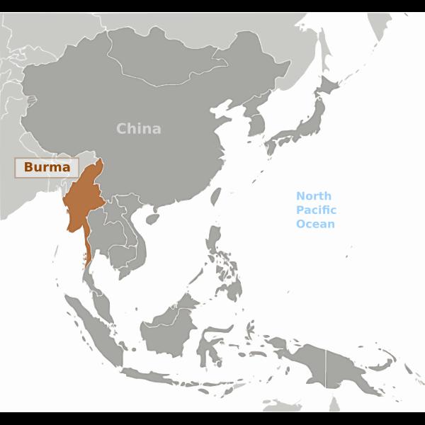 Burma location image