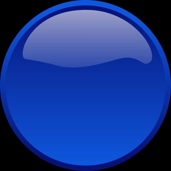 Blue led light vector graphics