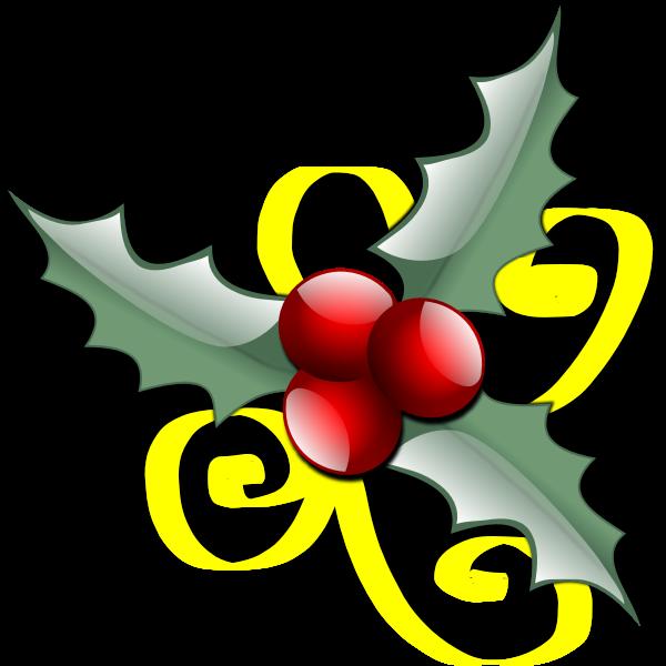 Floral vector decoration