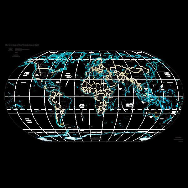 World Map 2013